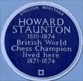 Image for Howard Staunton - Lansdowne Road, London, UK
