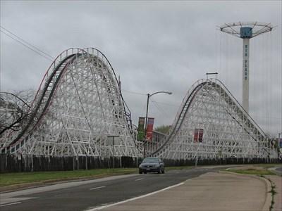 Texas Giant - Six Flags Over Texas - Arlington, Texas