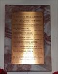 Image for Roll of Honour - St Andrew - Quidenham, Norfolk