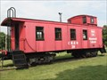Image for CB&Q 13821 caboose - Mooseheart, IL