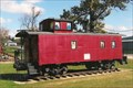 Image for Caboose Passenger Mural - Wright City, MO