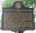 Image for Roswell's Distinguished Men - GHM 060-121 - Roswell, Fulton Co. GA
