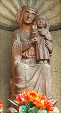 Image for Virgin Mary with infant Jesus at the Adenbachtor, Ahrweiler - RLP / Germany
