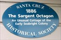 Image for Blue Plaque: The Sargent Octagon House