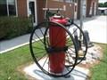 Image for Wheel Fire Extinguisher, Denton Fire Dept, Denton, NC, USA