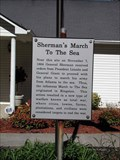 Image for Sherman's march to the Sea - Bartow Co., GA