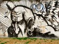 Image for Graffiti near the bike trail -- Dallas, TX