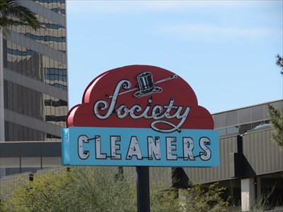 Society Cleaners, Shaded Side, Las Vegas, Nevada