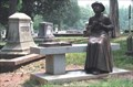 Image for Lady seated on a bench  - old Marietta Cemetery in Marietta, Ga.