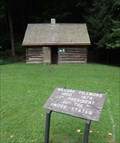 Image for Milliard Fillmore replica cabin - Fillmore State Park, Moravia, NY