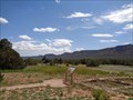 Image for Pueblo Indian Farm Ruins - Santa Fe County, New Mexico, USA.
