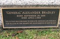 "Image for ""General"" Alexander Bradley - Union Miners Cemetery - Mount Olive, IL"