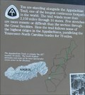 """Image for Appalachian Trail """"You Are Here"""" @ Newfound Gap, GSMNP"""