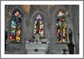 Image for Stained glass window in the medieval church of Ardres - france