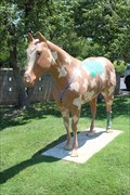 Image for Ortho-Tex - Hoof Prints of the American Quarter Horse - Amarillo, TX