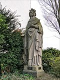 Image for Katharina - Patron saint of the stonemasons and asteroid (320) - Mendig, RP, Germany
