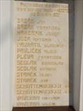 Image for Pametni deska Obetem 1. svetove valky - Heroltice, Czech Republic