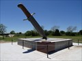 Image for LARGEST Bowie Knife in the World - Bowie, TX