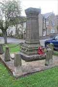 Image for Combined War Memorial, Great Longstone, Derbyshire.