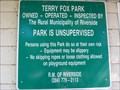 Image for Terry Fox Park - Ninette, Manitoba