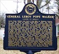 Image for General Leroy Pope Walker - Moulton, AL