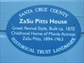 Image for Blue Plaque: ZaSu Pitts House