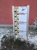 Image for Highwater-Level-Display river Fr.Rezat/ Windsbach/Bavaria/ Germany