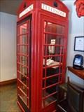Image for Red Telephone Box, Piper's Pub, Nanaimo, BC