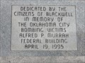 Image for Oklahoma City Bombing Memorial - Blackwell, OK
