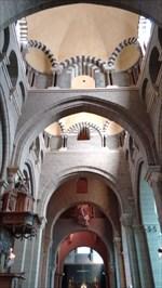 Interior under the dome