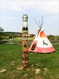 Image for Totem pole - Kostelany, Czech Republic