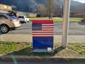 Image for American Legion Flag Drop Box ~ Gate City High School ~ Gate City, Virginia - USA.
