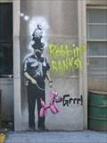 Image for Banksy: Policeman and balloon dog