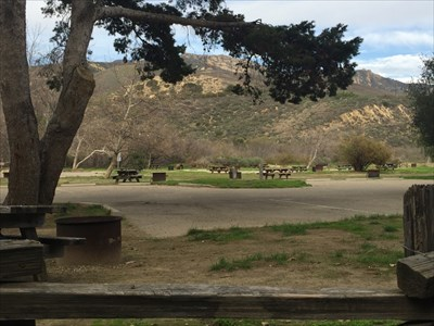 Campground and Parking, Goleta, California