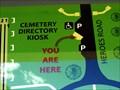 Image for Cemetery Directory Kiosk - Fort Harrison, Montana