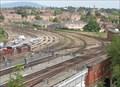 Image for Shrewsbury rail accident - Shrewsbury, Shropshire, Great Britain.