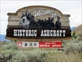 Image for Welcome to Historic Ashcroft - British Columbia