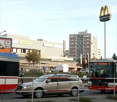 McDonald's Billa, Vysocanska, Praha, Czech Republic