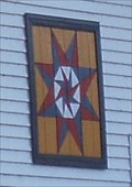 Image for Barn Quilt on a House - Savanna, IL