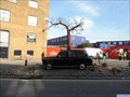 Image for London Taxi Sprouting a Tree - Orchard Place, London, UK