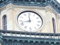 Image for Van Buren County Courthouse Clock - Paw Paw, Michigan