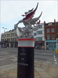 Image for City of London Boundary Dragon - Bishopsgate, London, UK