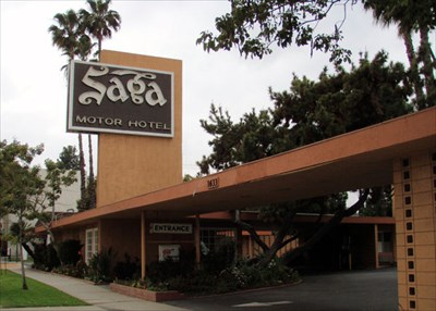 Saga Moter Hotel Pasadena Ca Route 66 The Mother Road On