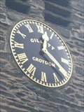 Image for St Andrew's Church Clock - Coniston, Cumbria, England, UK.
