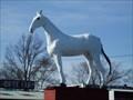 Image for White Horse Statue - White Horse Farm, Hammonton, NJ