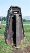 Image for Mount Calvary Catholic Cemetery Outhouse - Klamath Falls, OR