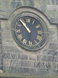 Image for Christ Church Clock - Alsager, Cheshire, UK.