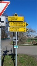 Image for Direction and distance arrow - Kunetická street - Pardubice - Czech Republic
