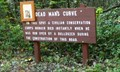 Image for Dead Man's Curve Marker - Perry County, Pennsylvania