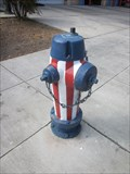 Image for Patriotic Painted Hydrant - San Jose, CA